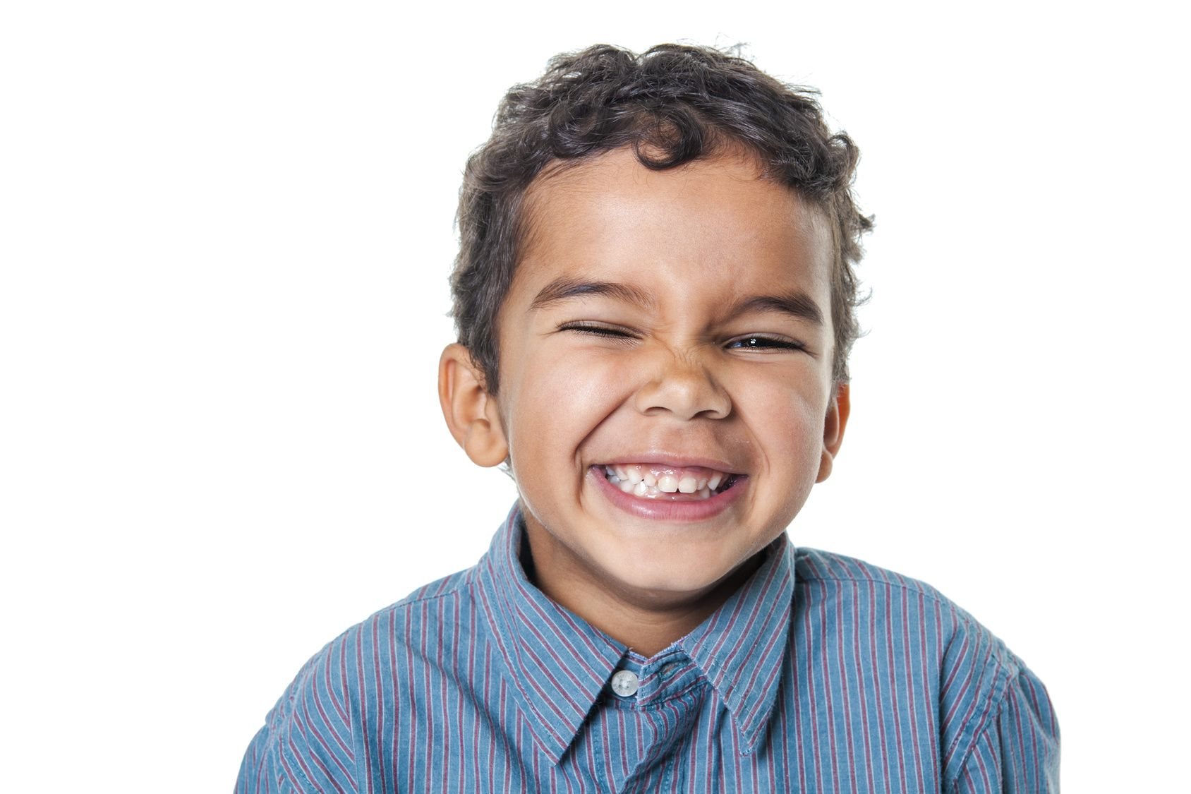 Portrait Of A Cute African American Little Boy Isolated On Whit North Branford Dentist North Branford Dental Group